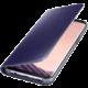 Samsung S8+, Flipové pouzdro Clear View se stojánkem, violet