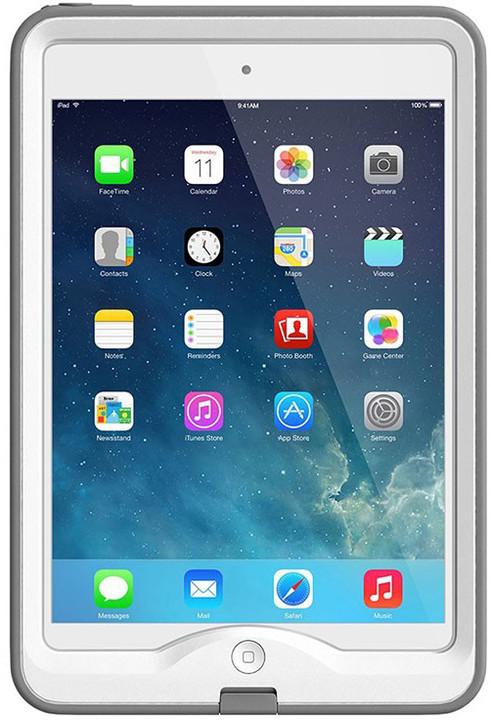LifeProof Nüüd pouzdro pro iPad mini / mini 2 / mini 3, odolné, bílá