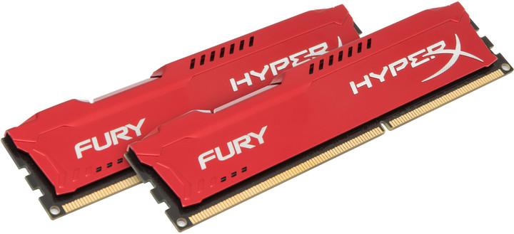 Kingston HyperX Fury Red 8GB (2x4GB) DDR3 1600