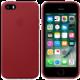 Apple kožený kryt na iPhone SE (PRODUCT)RED, červená