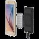 Scosche MagicMount záložní baterie s mag.přichycením s oboustranným microUSB,4000mAh,černá