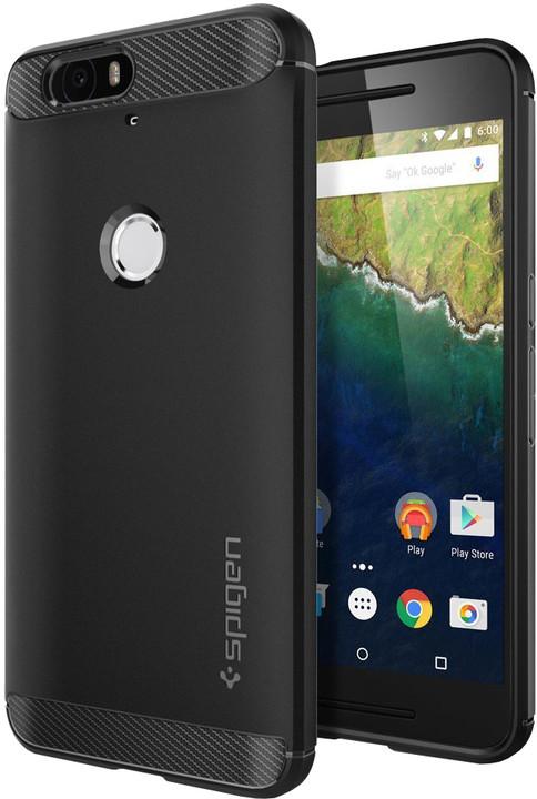 Spigen Rugged Armor pro Nexus 6P, černá