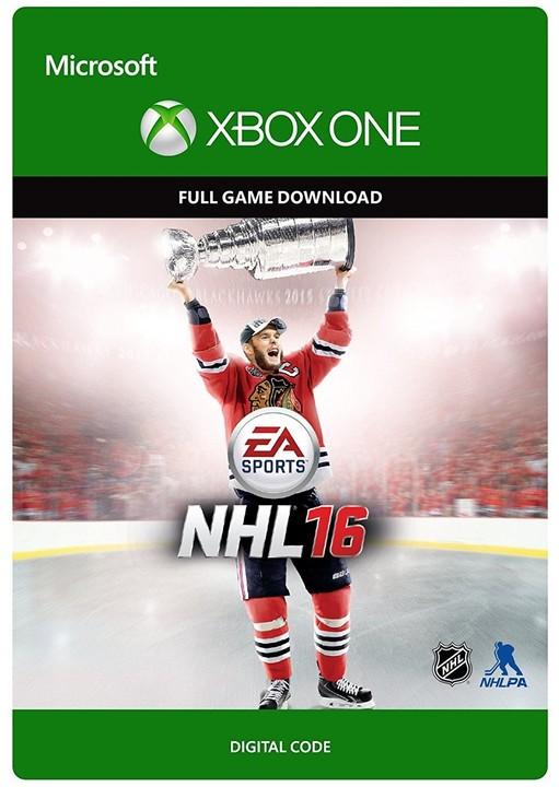 NHL 16 Standard Edition (Xbox ONE) - elektronicky