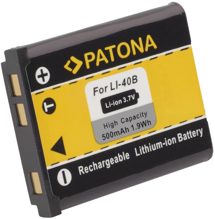 Patona baterie pro Olympus Li-40B / Li-42B 500mAh