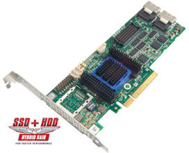 ADAPTEC RAID 6805 Kit SAS 2/ SATA 2, PCI Express x8, 8 portů