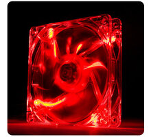 Thermaltake Pure 12 LED Red, 120mm - CL-F019-PL12RE-A