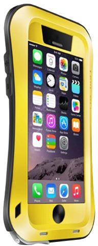 Love Mei Case iPhone 6 Three anti Waistline Yellow