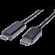PremiumCord DisplayPort na HDMI kabel 2m M/M