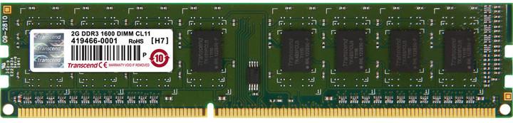 Transcend JetRam 2GB DDR3 1600