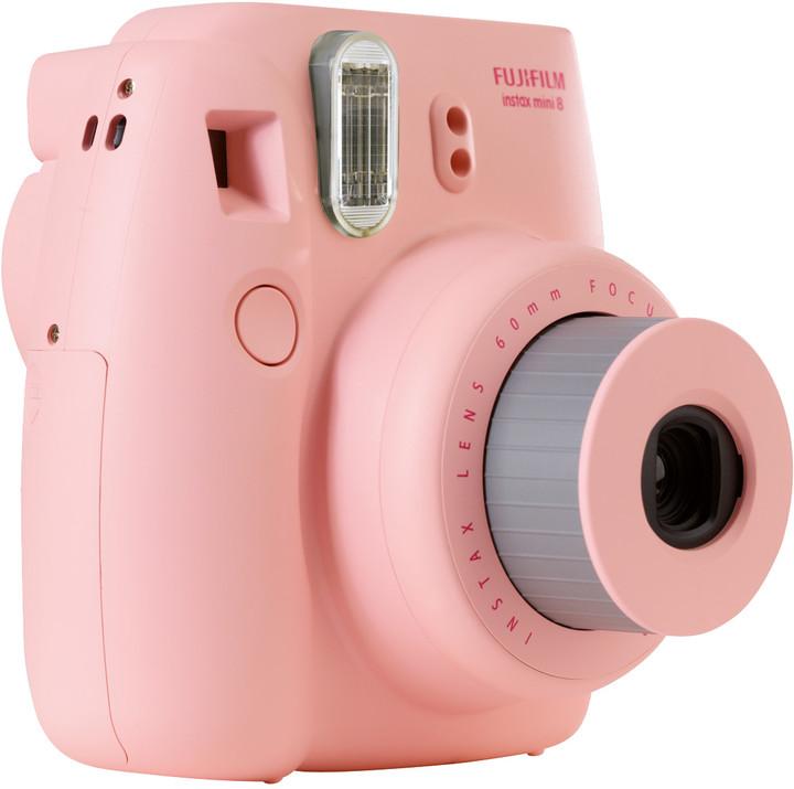Fujifilm Instax MINI 8, růžová