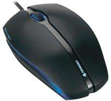 Cherry Gentix, USB, černá s modrým podsvícením - JM-0300-01
