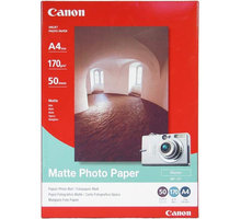 Canon Foto papír MP-101, A4, 50 ks, 170g/m2, matný - 7981A005