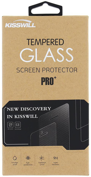 Kisswill Tvrzené sklo 0.3 mm pro Huawei P10 Lite