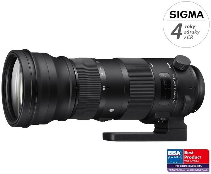 SIGMA 150-600/5-6.3 DG OS HSM SPORTS Nikon