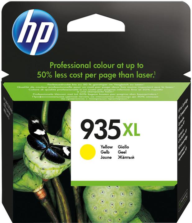 HP C2P26AE náplň č.935XL, žlutá