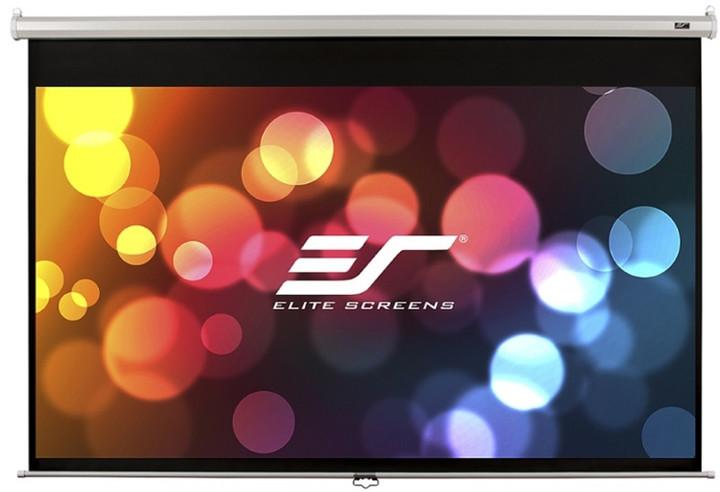 """Elite Screens plátno roleta 120"""" (304,8 cm)/ 16:9/ 149,4 x 265,7 cm/ case bílý"""