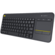 Logitech Wireless Touch Keyboard K400 Plus, CZ