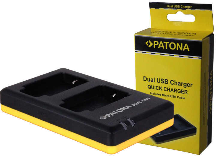 Patona nabíječka Dual Quick Sony NP-FW50 USB