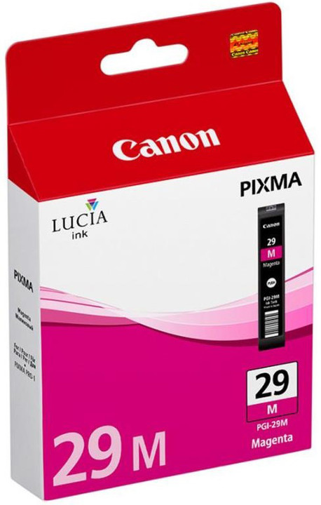 Canon PGI-29 M, purpurová