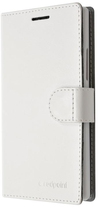 FIXED flipové pouzdro pro Lenovo A7010, bílá