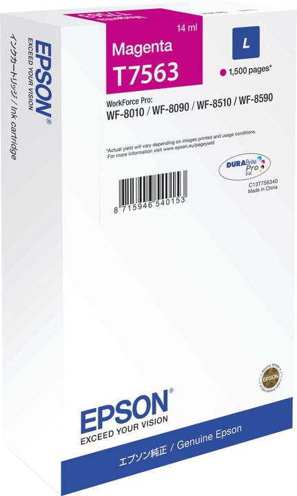 Epson C13T756340, purpurová
