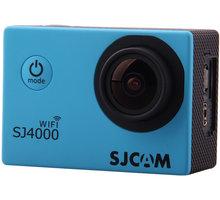 SJCAM SJ4000 WiFi, modrá + Baterie pro akční kameru SJCAM v ceně 329 Kč