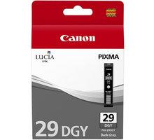 Canon PGI-29 DGY, tmavě šedá - 4870B001