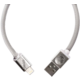 PlusUs LifeStar Designer USB Charge & Sync cable Lightning - Grey
