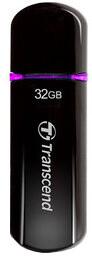 Transcend JetFlash V600 32GB, černo/fialový