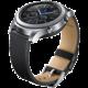 Samsung náramek ET-YSL76MBEG Leather Strap Gear S3, černý