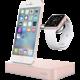 Belkin nabíjecí stojánek pro Apple Watch + iPhone - růžově zlatá