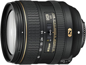 Nikon objektiv Nikkor 16-80mm F2.8-4E ED VR