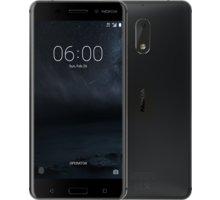 Nokia 6, Dual Sim, černá