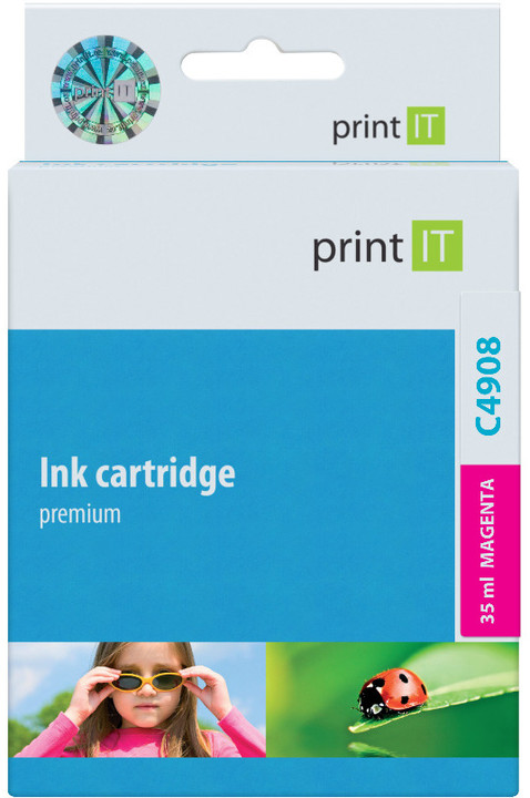 PRINT IT alternativní HP C4908AE Magenta no .940XL