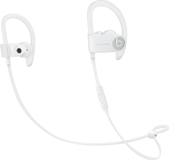 Apple Powebeats3, bílá