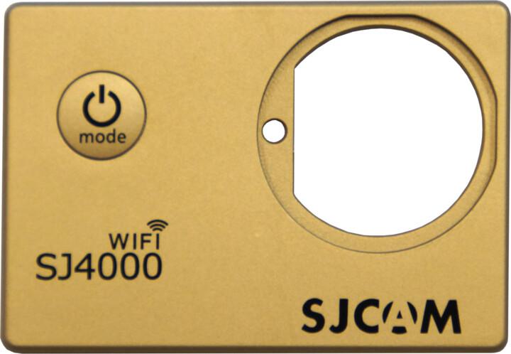 SJCAM ochranný kryt pro SJ4000 WIFI, zlatý