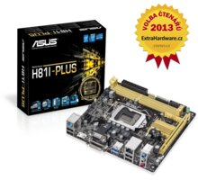 ASUS H81I-PLUS - Intel H81 - 90MB0GC0-M0EAY0