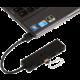 i-Tec USB hub, USB 3.0, 4port, pasivní, SLIM, černý