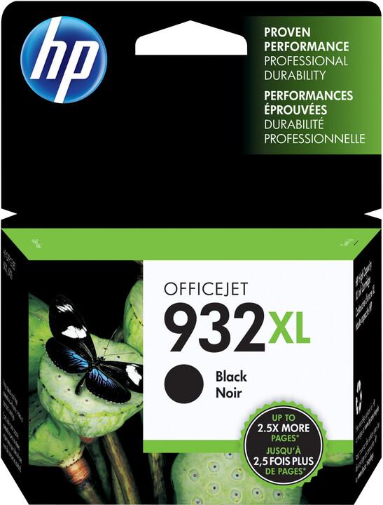 HP CN053AE No.932 XL černá – ušetřete až 50 % oproti standardní náplni