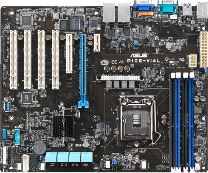 ASUS P10S-V/4L - Intel C236