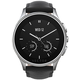Vector SmartWatch Luna-Brushed Steel/Black Padded Leather/Sml Fit