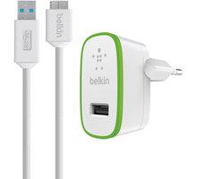Belkin Micro USB nabíječka, bílá - F8M865vf03-WHT