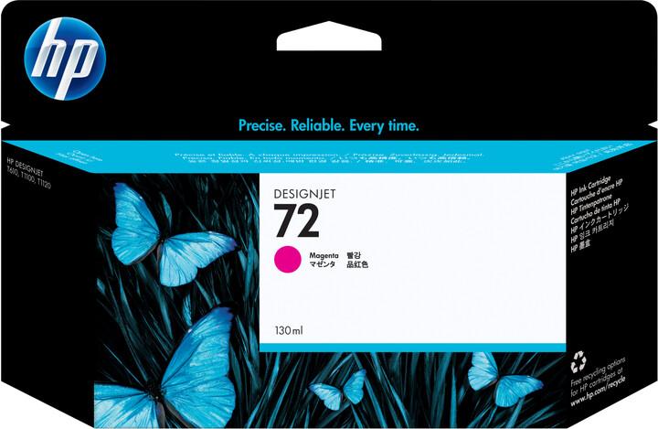 HP 72 purpurová