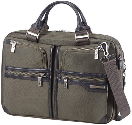 "Samsonite Supreme 2 - BAILHANDLE 15.6"" EXP"