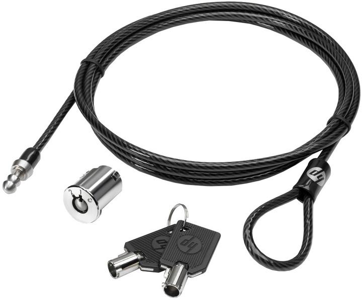 HP Master Keyed Docking Lock, bezpečnostní kabelový zámek