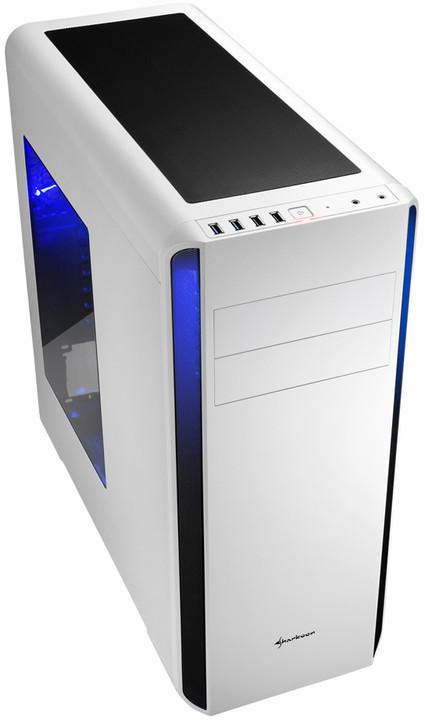Sharkoon BW9000-W, bílá