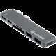 eSTUFF USB-C Slot-in Hub Pro, šedá