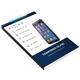 FIXED ochranné tvrzené sklo pro Apple iPhone 5/5S/SE, 0.33 mm