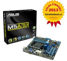 ASUS M5A78L-M/USB3 - AMD 760G - 90-MIBG70-G0EAY00Z