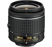 Nikon objektiv Nikkor 18-55mm f/3.5-5.6G EDII (3,0x) AF-P VR DX - JAA826DA